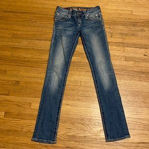 Rock revival Jasmine straight jeans